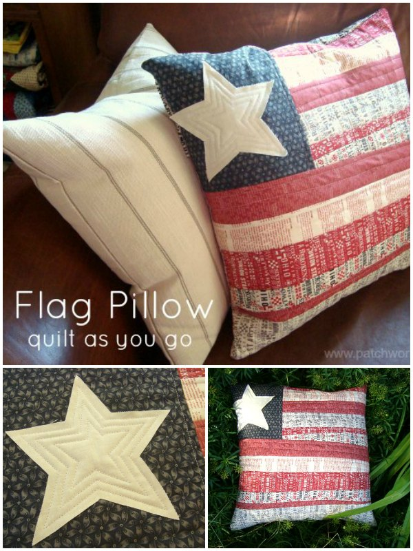QAYG Patriotic Pillow