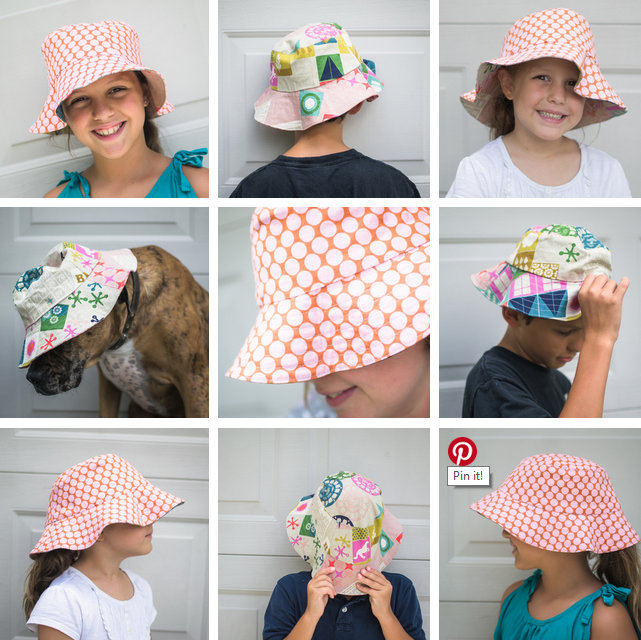 Show Off Saturday  Bucket Hat Sewing  from a free pattern  — SewCanShe  ab11d8c5ba7e