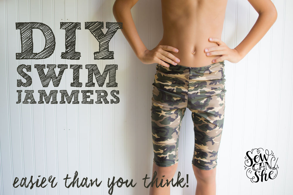 672368bd6f DIY Swim Jammers (easier than you think) — SewCanShe | Free Sewing ...