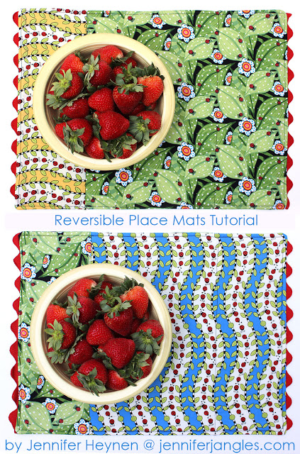 Jennifer Jangle's Quilted Place Mats
