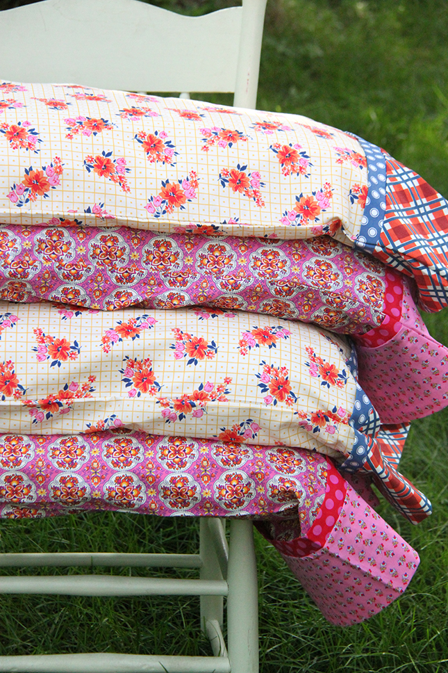 30 minute French Seam Pillowcases