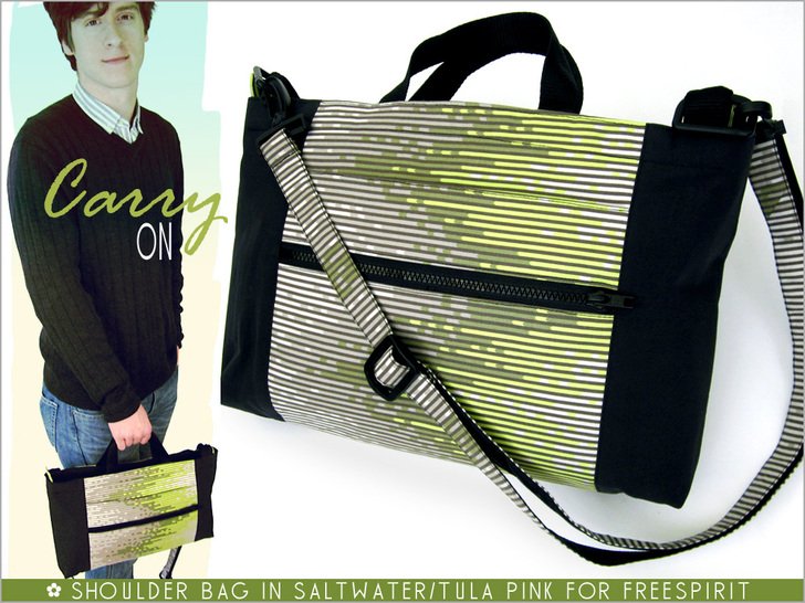 Unisex Urban Shoulder Bag from Sew 4 Home