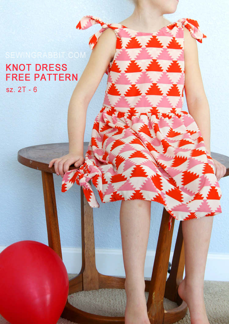 Knot Dress – Free Pattern from The Sewing Rabbit