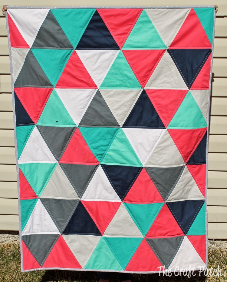 7 Equilateral Triangle Quilts To Inspire Plus A Pillow