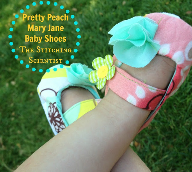 Baby Mary Jane Shoes from The Stitching Scientist