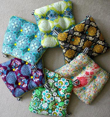 Beautiful Chair Cushions from mmmcrafts