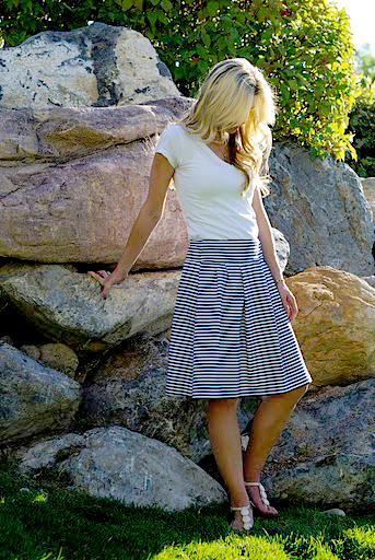 The Socialite Skirt from Elle Apparel
