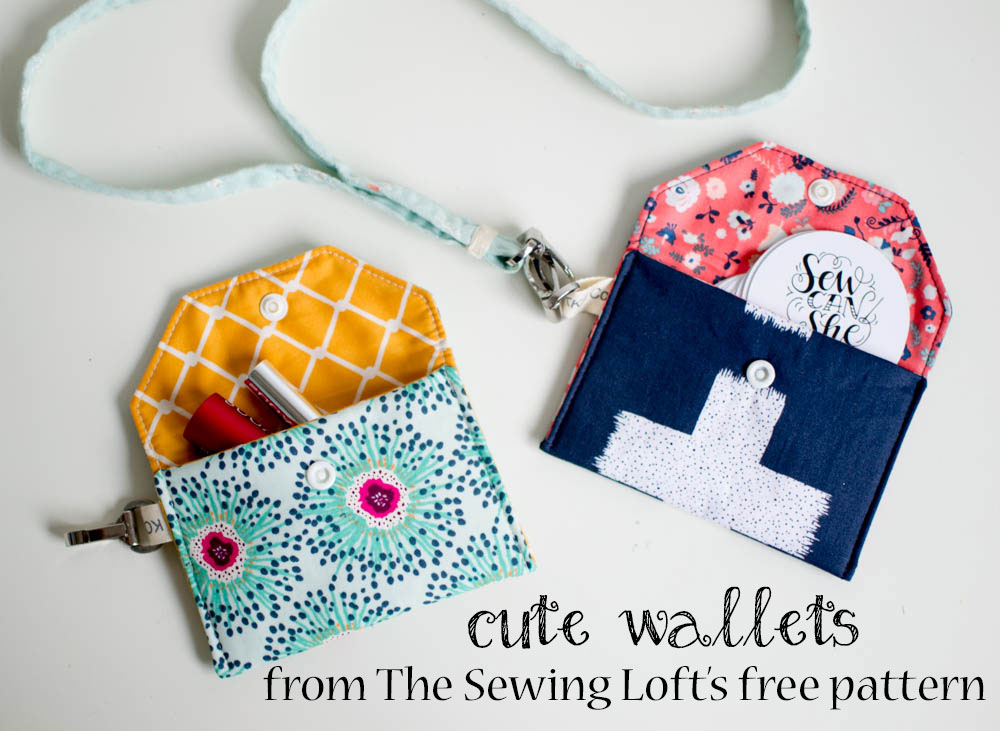Show Off Saturday Some Cute Little Wallets On The Fly Sewcanshe
