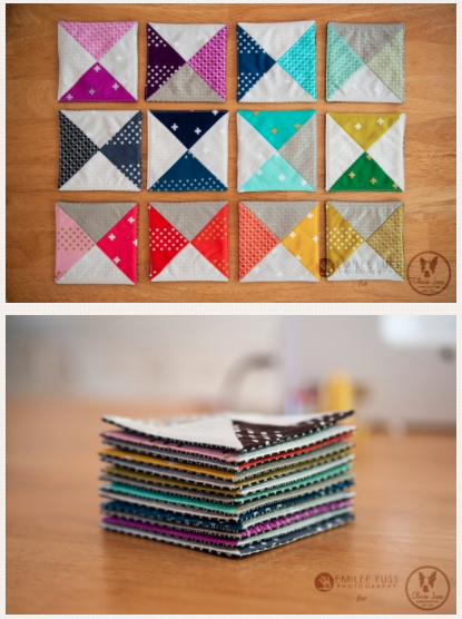 the coaster tutorial from Olivia Jane Handcrafted