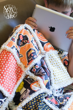 Quilting Unplugged Soft And Cozy Rag Quilt Sewing Tutorial