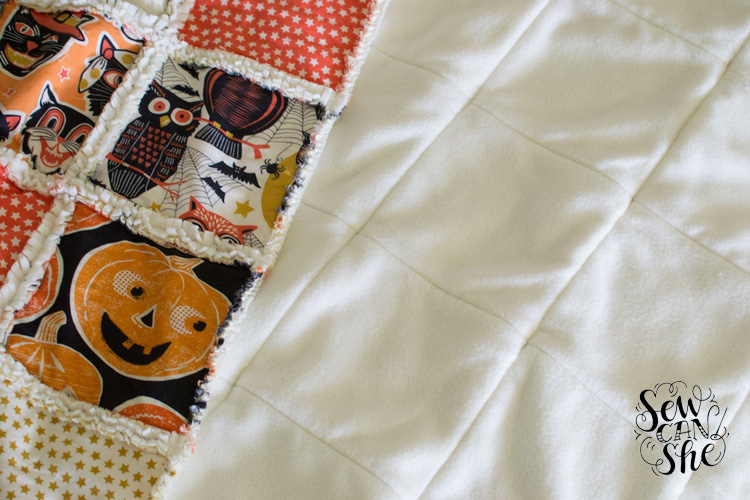 how to make a rag quilt for beginners