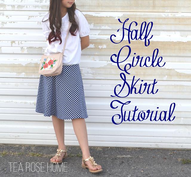 half circle skirt tutorial