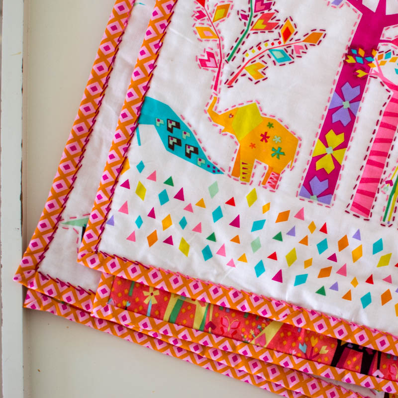 Show Off Saturday... My Hand Quilted Baby Quilt - finally ...