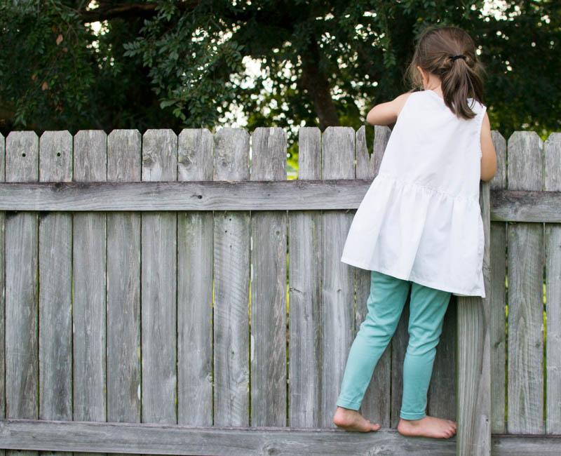 Basic Leggings For Girls Free Pattern And Tutorial Sewcanshe