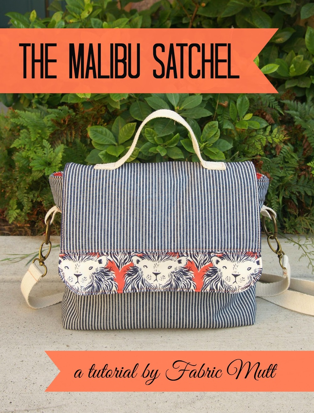 Malibu Satchel Tutorial from Fabric Mutt