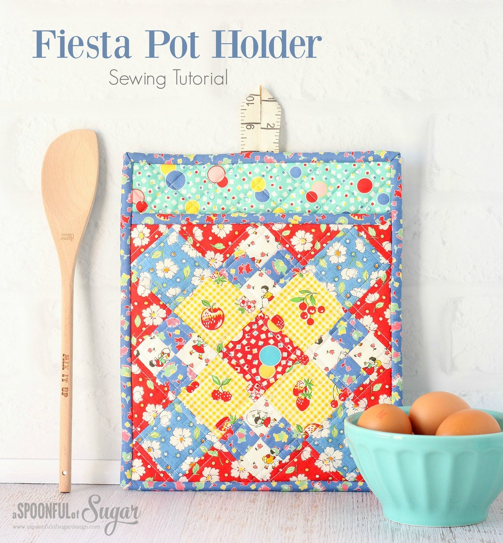 FIESTA POTHOLDER from A Spoonful of sugar
