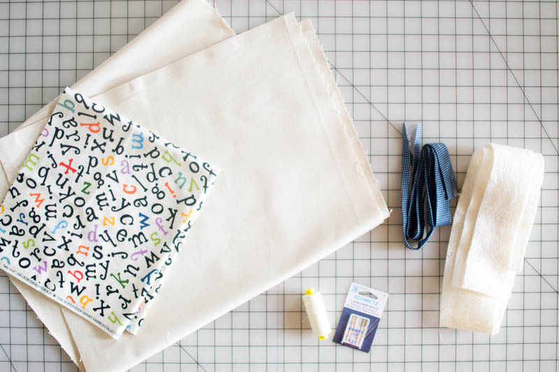 Free Canvas Book Bag Sewing Tutorial! — SewCanShe   Free Sewing ...