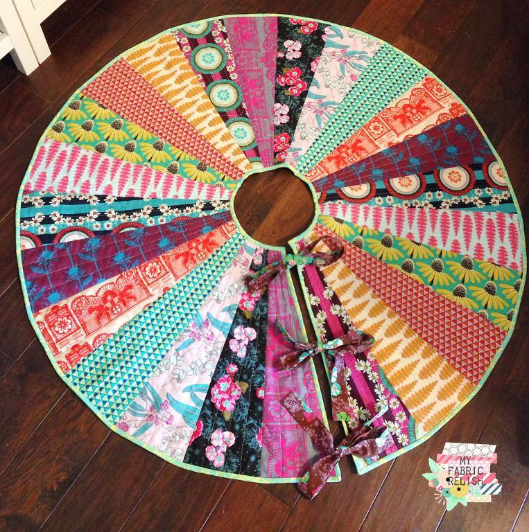 Tree Skirt Free Sewing Pattern