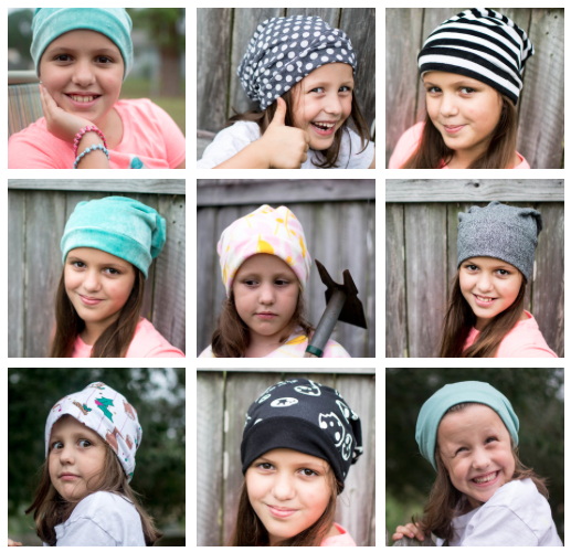 Show Off Saturday... cute 20 minute beanie hats! — SewCanShe  2a6b7a4faddc