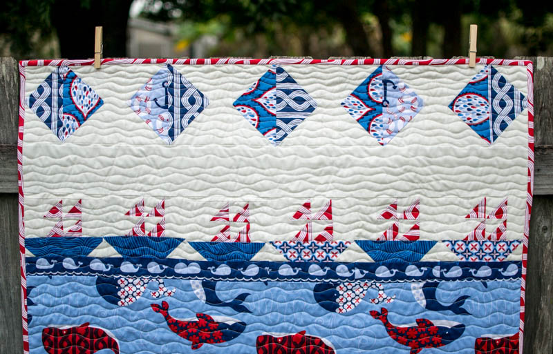 Show Off Saturday... a Sailboat Storytelling Quilt — SewCanShe ... : sailing quilt - Adamdwight.com