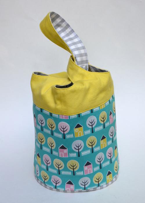Cloverleaf Bag Tutorial from Sew Mama Sew