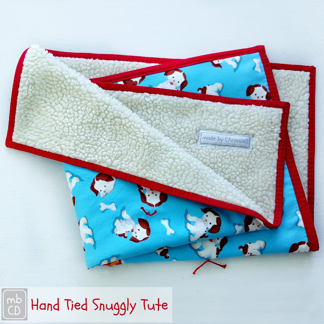 Hand Tied Snuggly from Made by ChrssieD