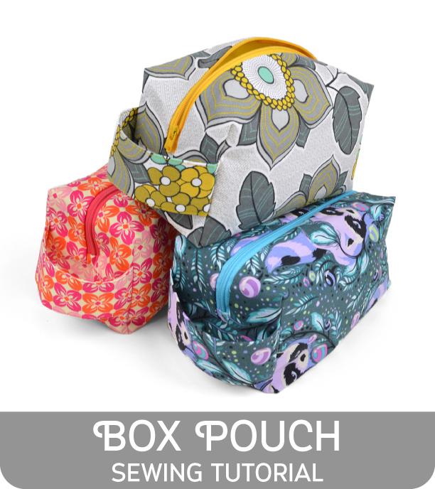 Box Pouch from Sew Desu Ne?