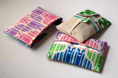 Pocket Tissue Pack from Sew Mama Sew