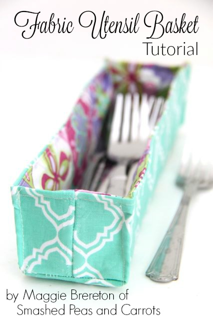 Fabric Utensil Basket from Riley Blake Designs