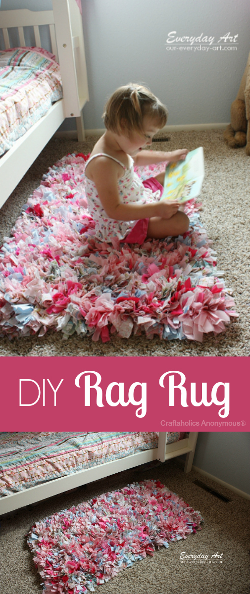 Rag Rug from Craftaholics Annonimous