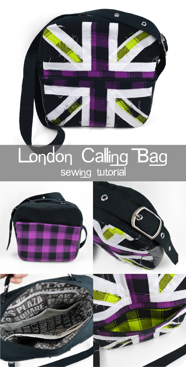The London Calling Bag from Choly Knight