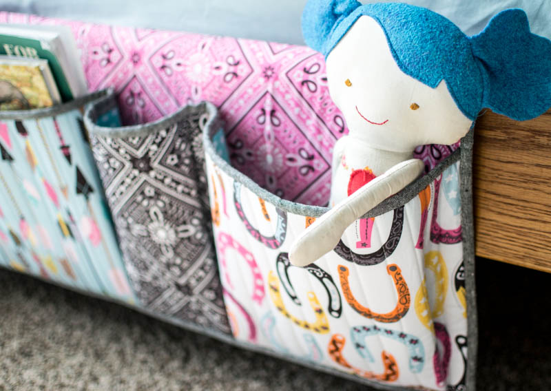 Pinterest UnTutorial Solved Bedside Storage Pockets u2014 SewCanShe | Free Sewing Patterns for Beginners & Pinterest UnTutorial Solved: Bedside Storage Pockets u2014 SewCanShe ...