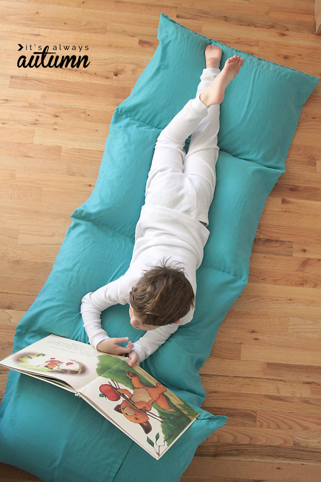 kids' pillow bed  from It's Always Autumn
