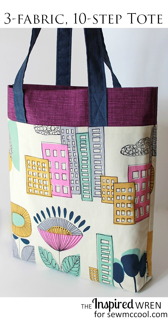 10 Step Tote from Sew McCool