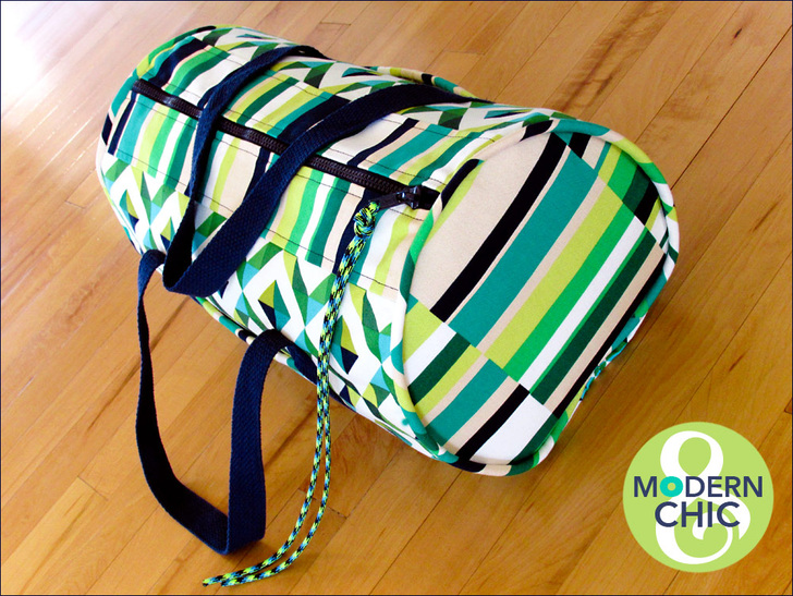 Duffle with Rip Stop Lining from Sew 4 Home