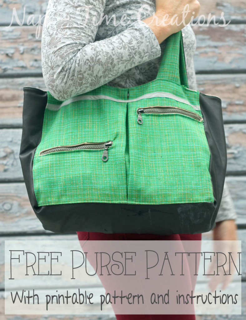 Free Purse Pattern from Nap Time Creations
