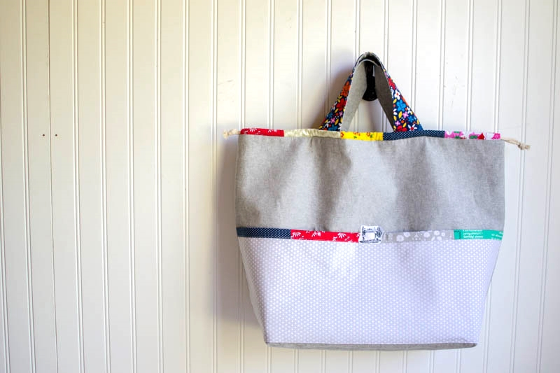 7ff721f023 Japanese Knock off Tote Bag - free sewing tutorial