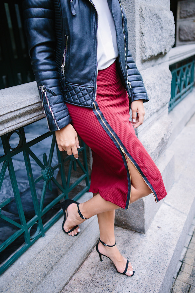 Easy Zip Skirt from A Pair & A Spare