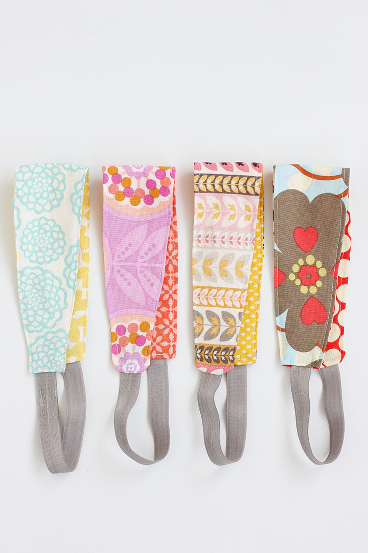 Reversible Fabric Headband from Alice & Lois