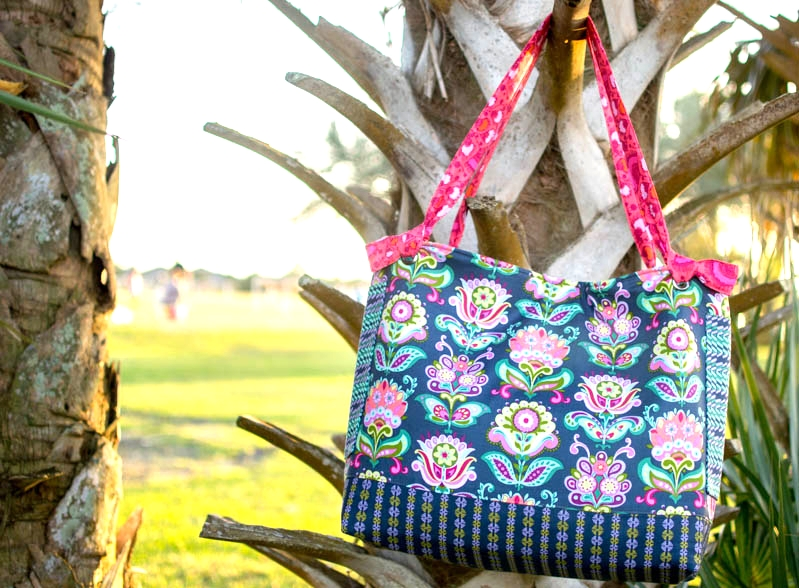Show Off Saturday My Garden On The Go Tote With An Added