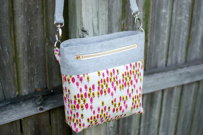 Pinterest UnTutorial Solved: My Convertible Cross-Body Tote ...
