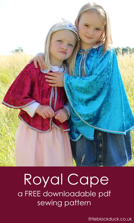 Free Pattern :: Royal Cape from Little Black Duck