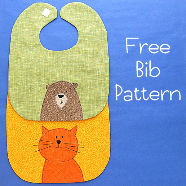 Baby Bib Pattern from Shining Happy World