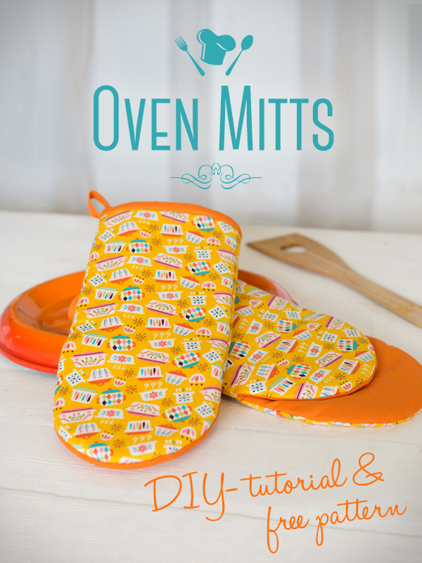 Oven Mitts from My Sewing Blog