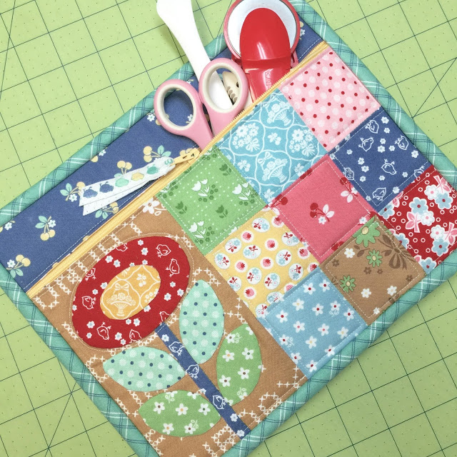 Quilty Zip bag from Bee in My Bonnet