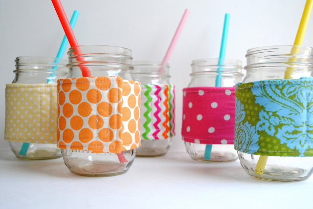mason jar cozy from a pretty cool life