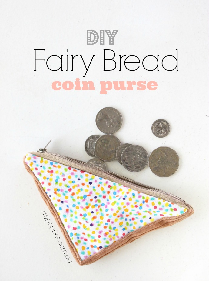 FAIRY BREAD COIN PURSE from My Moppet Makes
