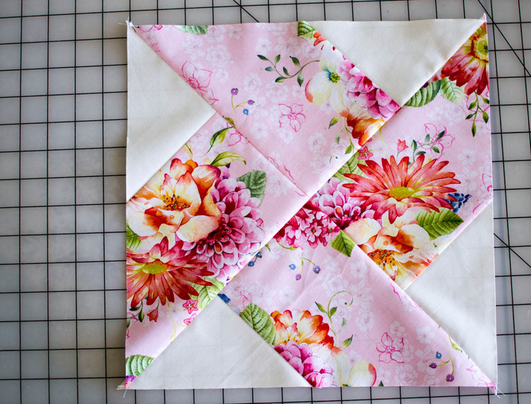 Classic Blocks: Fresh Fabric... the Whirlwind Quilt Block {tutorial}
