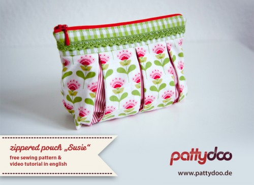zippered pouch Susie from Patty Doo