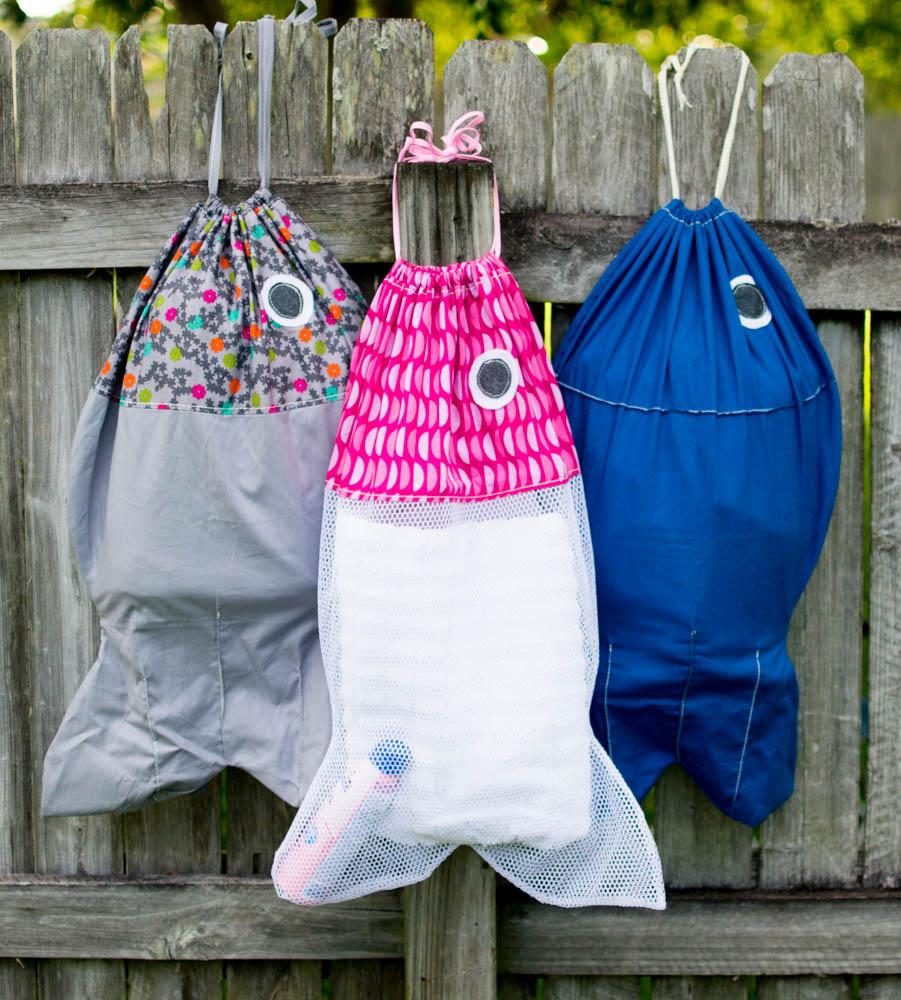 Fish laundry bags free sewing pattern sewcanshe free sewing sewing blog jeuxipadfo Choice Image